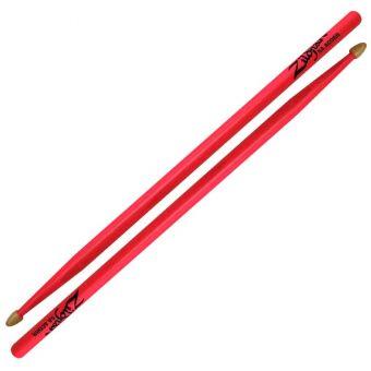 Zildjian 5A Acon Neon Pink Drumsticks