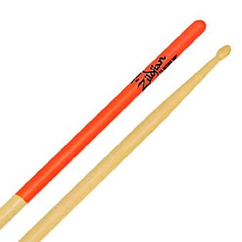 Zildjian 7A Orange Dip Maple Drumsticks