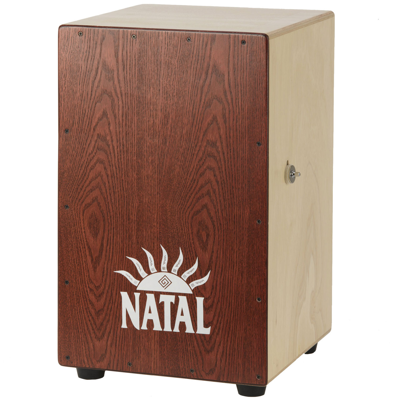 Maydrums Musikinstrumente   Natal Andante XL Cajon Red Ash   einfach ...